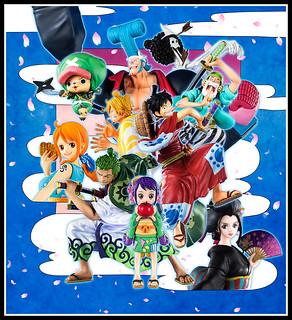 和之國篇章將在 Figuarts ZERO系列展開~《ONE PIECE 航海王》漫畫 91卷封面「草帽海賊團一行人」大集結商品化決定!