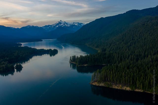 Baker Lake Summer Serenity