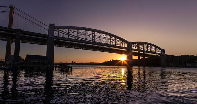 Royal Albert Bridge - Sunrise