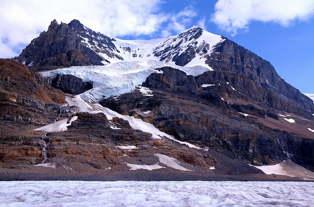 Hurry to see - the Athabasca glacier