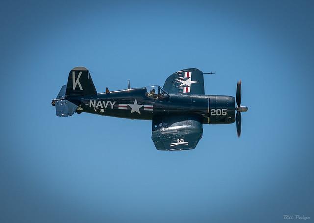 F-4U Corsair Fly-by