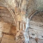 Krak des Chevaliers (Qalaat al-Husn) 1170-1271 Hall of Knights Porch Ceiling Rib Boss