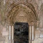 Krak des Chevaliers (Qalaat al-Husn) 1170-1271 Hall of Knights Porch Door (1e)
