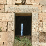 Krak des Chevaliers (Qalaat al-Husn) 1170-1271 Lower Keep late 12th cent Hospitallier Window (1e)