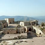 Krak des Chevaliers (Qalaat al-Husn) 1170-1271 Upper Keep