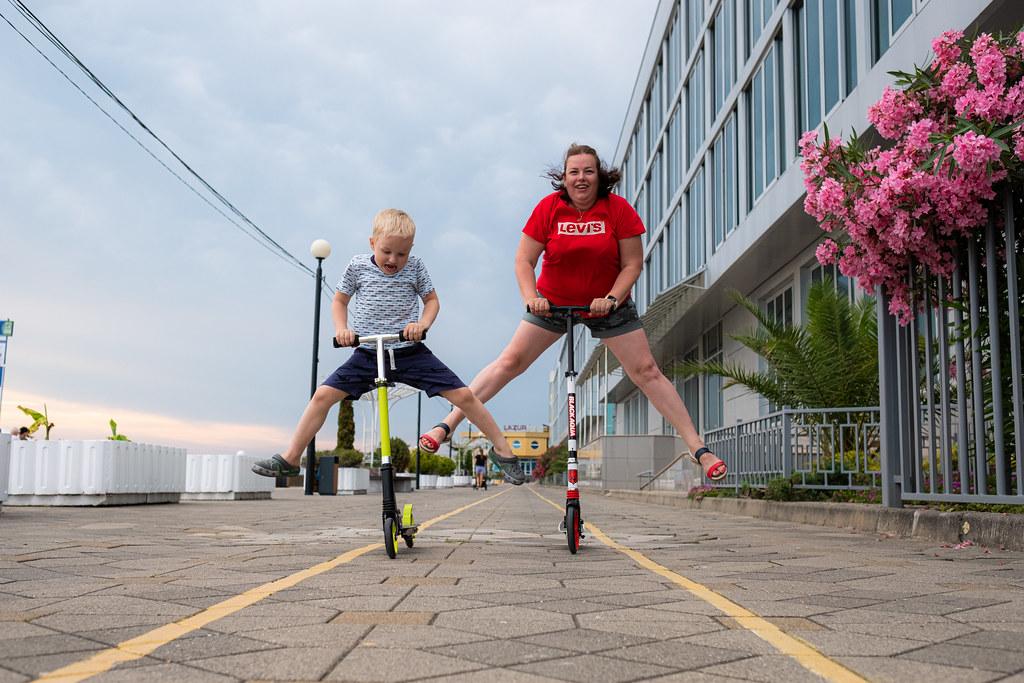 Сочи-Адлер, Красная Поляна, Скайпарк с ребенком на авто из Самары. Июль 2020.