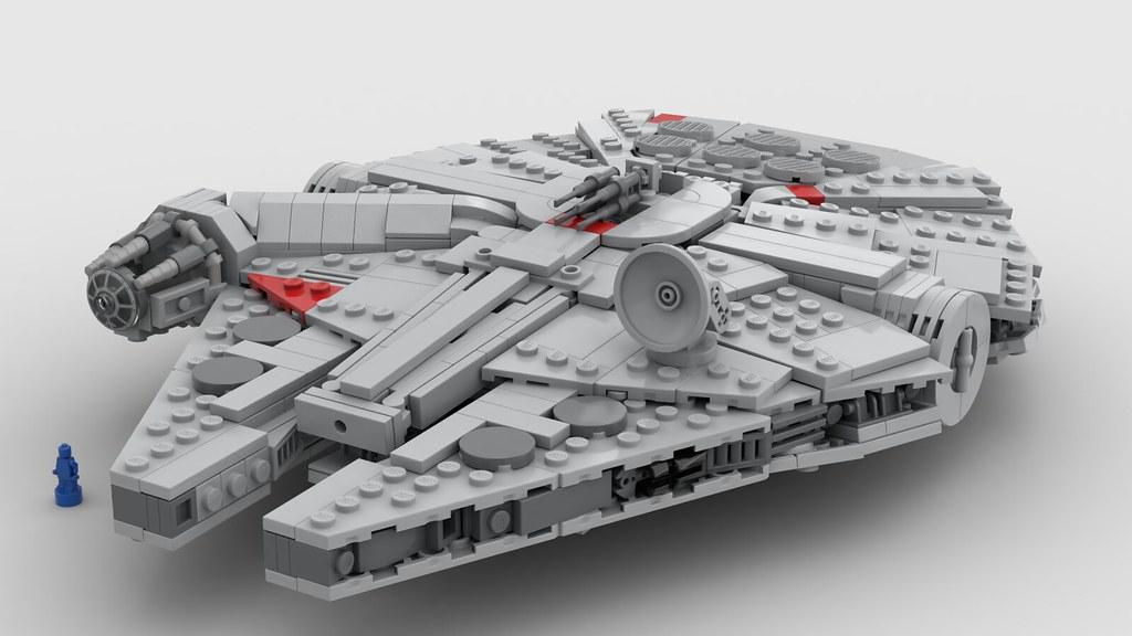micro millennium falcon