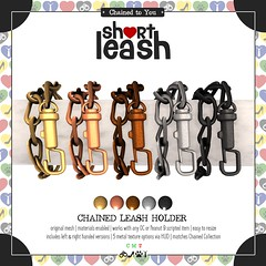 .:Short Leash:. Chained Leash Holder