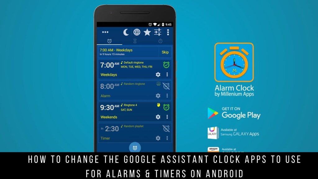 How to Change the Google Assistant Clock Apps to Use for Alarms & Timers on Android