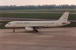 OY-CNE Airbus A320 @ Dusseldorf 01-05-1993
