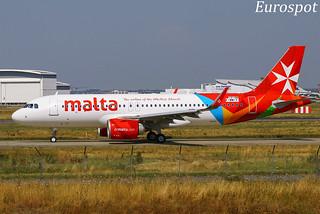 F-WWIV Airbus A320 Neo Air Malta