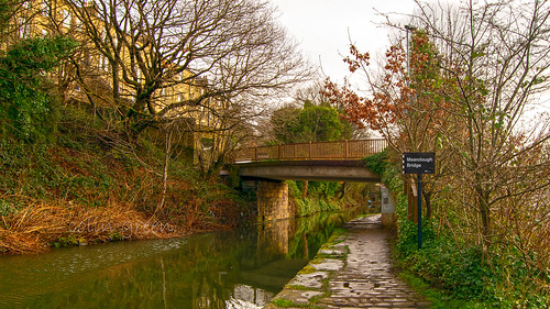 Mearclough Bridge, The Calder & Hebble Navigation