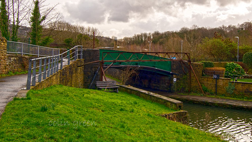 Chain Bridge or Gas Works Bridge, The Calder & Hebble