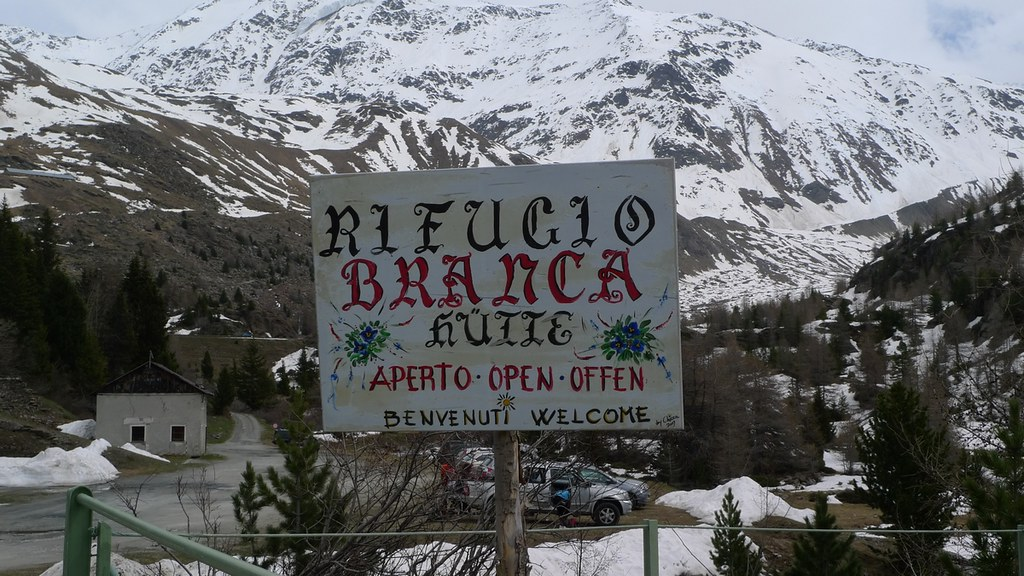 Branca Rifugio Ortles Itálie foto 07