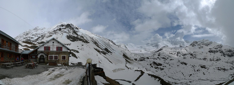 Branca Rifugio Ortles Itálie panorama 12