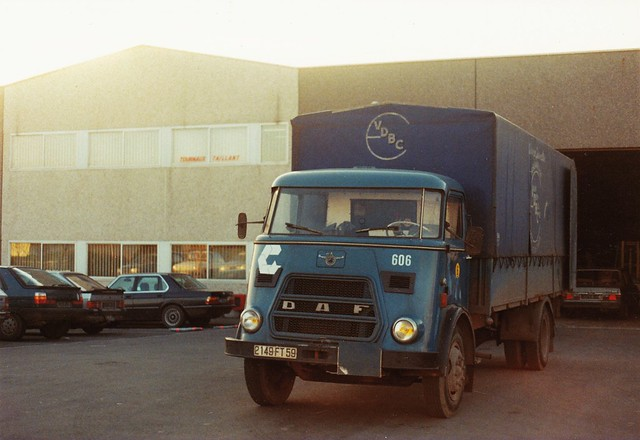 DAF A1600 Entrepôt Samada Lille (59 Nord) 1988a