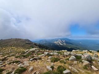 Punta di u Diamante depuis le sommet du Monte Calva