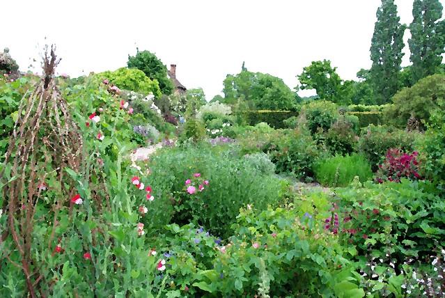 Sissinghurst Castle & Garden -  Where You'll Find a Cornucopia of Colours!