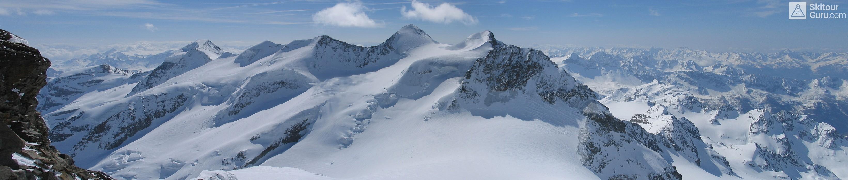 Piz Zupo - Piz Argient Bernina Schweiz panorama 50