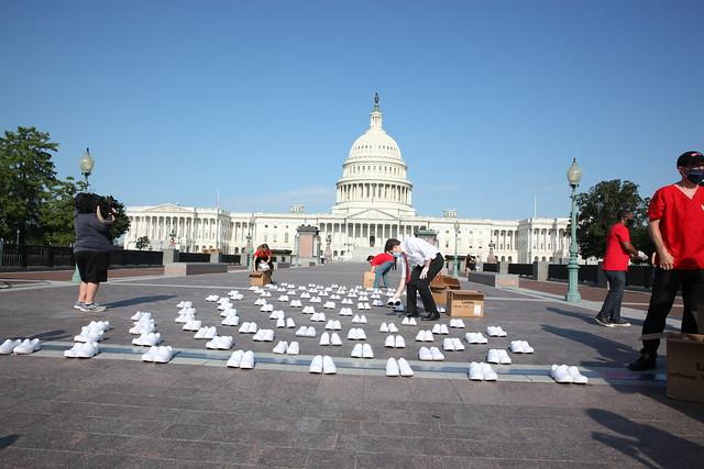 COVID-19 Fallen Nurses Memorial — U.S. Capitol, July 21, 2020