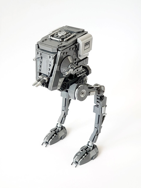 First Order AT-ST MOC by Edge of Bricks (2020)