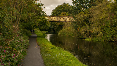 Copley Footbridge, Calder & Hebble Navigation