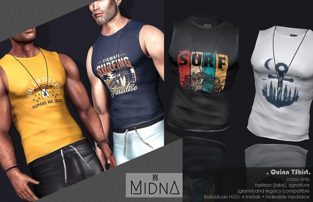 MIDNA – Quinn TShirt