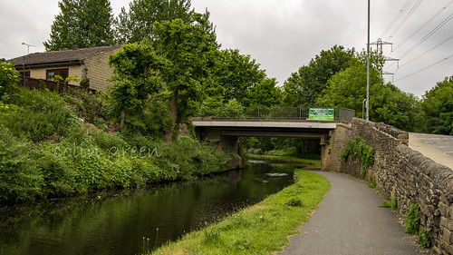 Copley Lane Bridge, The Calder & Hebble Navigation