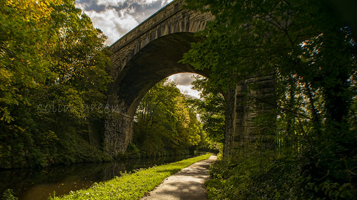 Copley Railway Viaduct, Calder & Hebble Navigation
