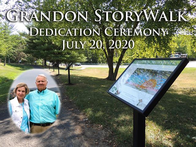 Grandon StoryWalk Dedication Ceremony