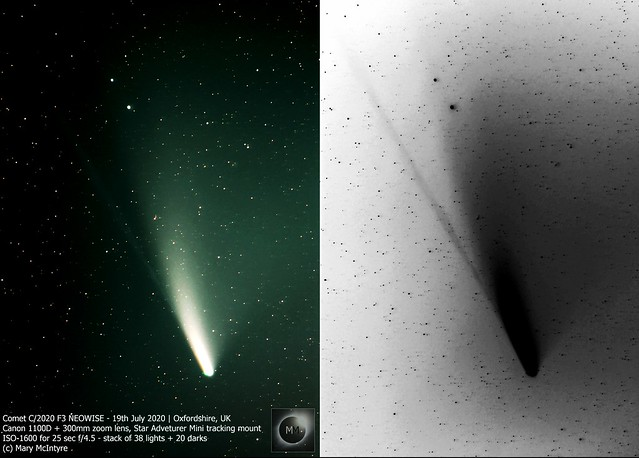 Comet C/2020 F3 NEOWISE 19th/20th July 2020