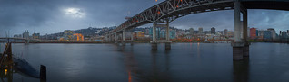 East bank panorama from OMSI, January of 2018 | by Ben_Coffman