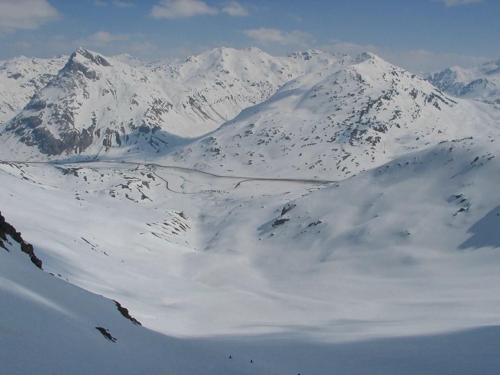 Val Arlas - freetour Bernina Schweiz foto 14