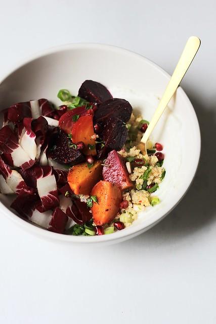ginger-beet salad bowls