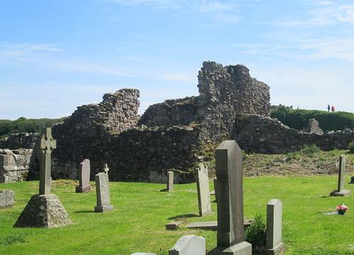 Ruins In Grounds of Lindisfarne Priory