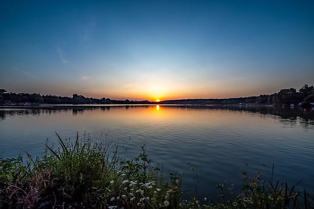 Sonnenuntergang am Dechsendorfer Weiher 2838