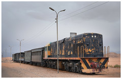 old Jordanian train