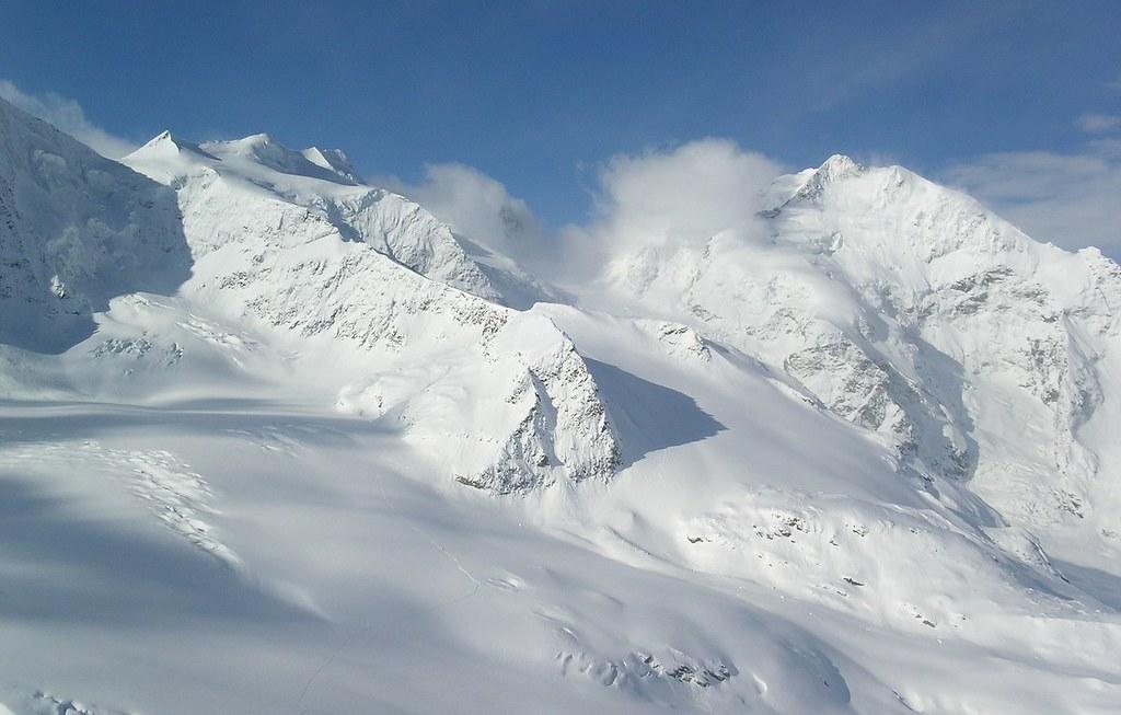 Morteratsch Glacier freetour Bernina Švýcarsko foto 14