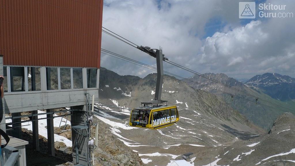 Morteratsch Glacier freetour Bernina Švýcarsko foto 07