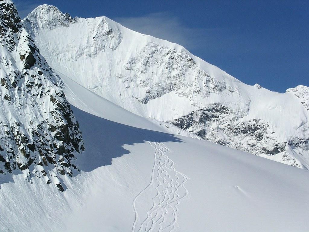 Morteratsch Glacier freetour Bernina Švýcarsko foto 17