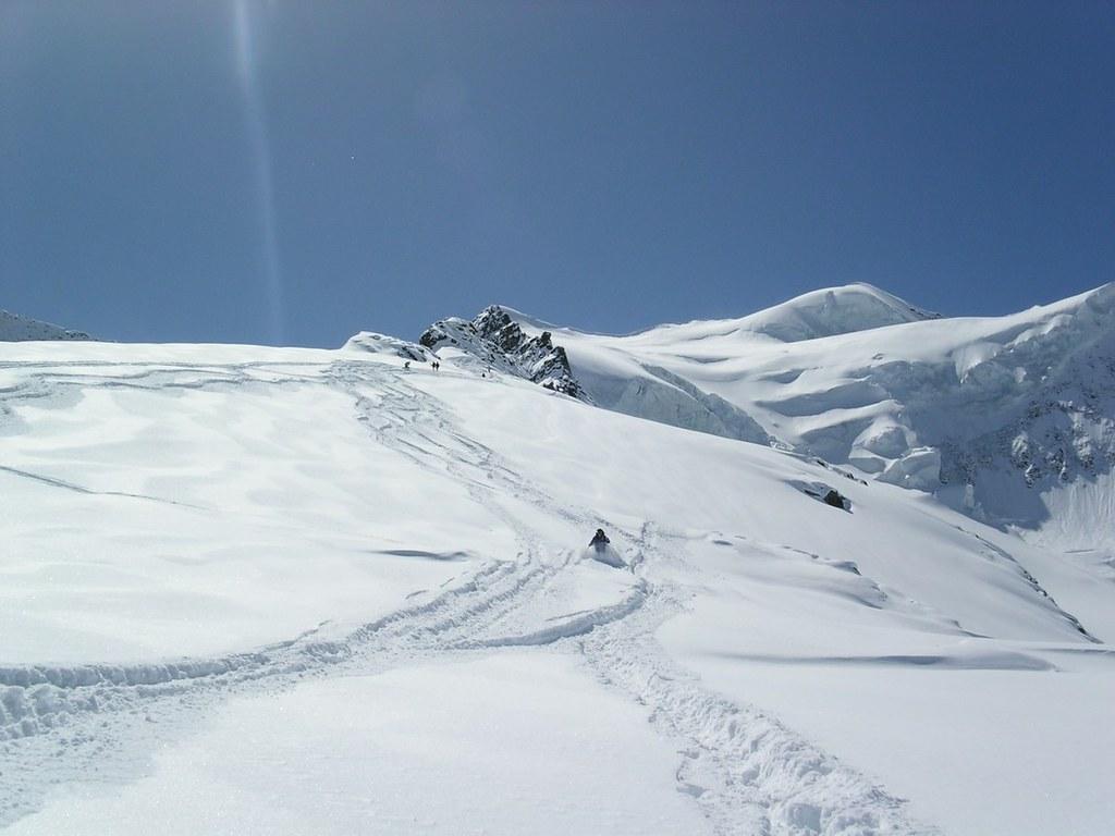 Morteratsch Glacier freetour Bernina Švýcarsko foto 28