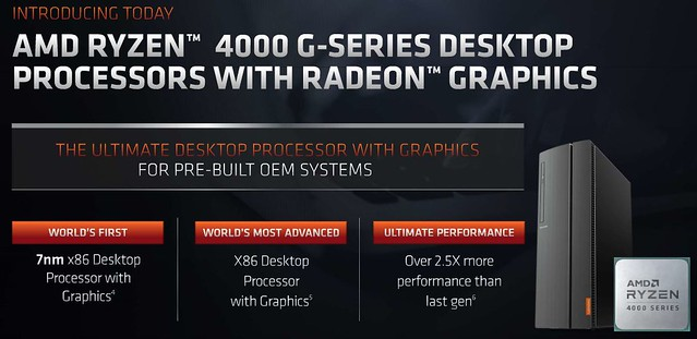 AMD Ryzen 4000 G-Series