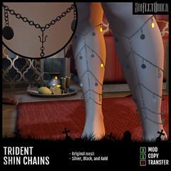 Six Feet Under - Trident Leg Chains