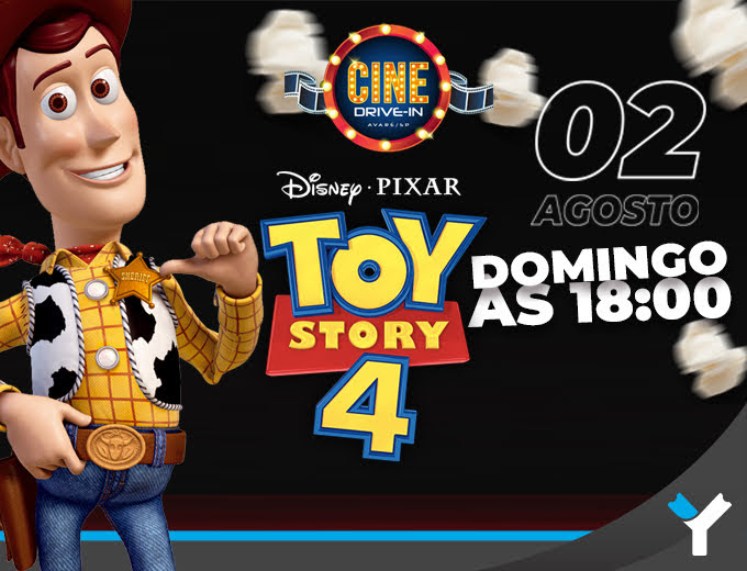 CINE DRIVE-IN  Toy Story 4