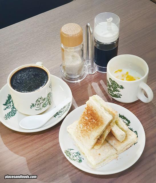 old master new nanyang coffee bread set