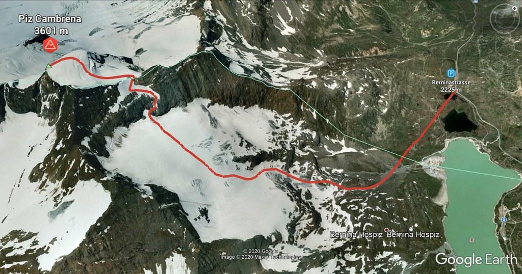 Piz Cambrena Bernina Switzerland photo 23