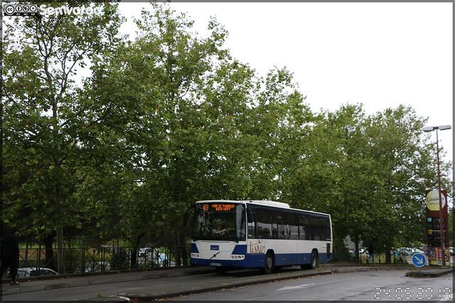 Volvo 8700 LE – Négoti Tourisme / Tisséo n°7342