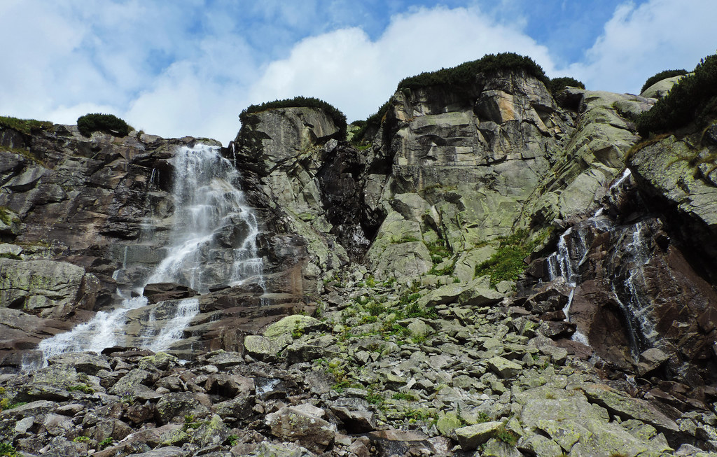Hike In The High Tatras With A Baby: Skok waterfall, High Tatras, Slovakia