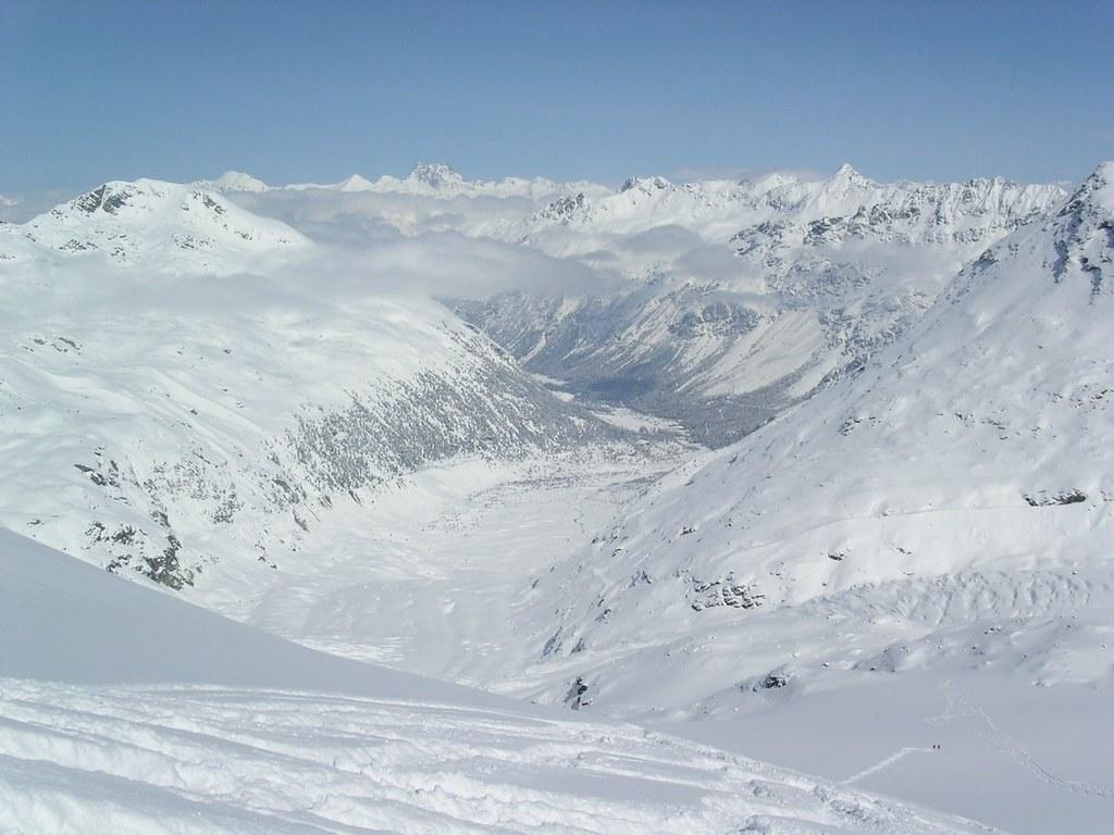 Morteratsch Glacier freetour Bernina Švýcarsko foto 22