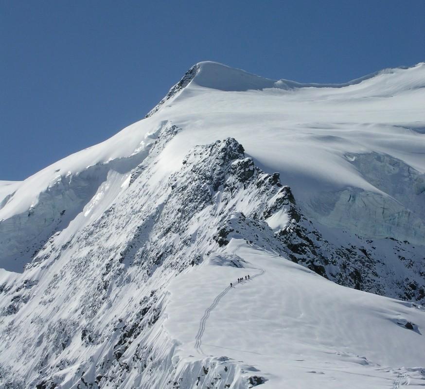 Morteratsch Glacier freetour Bernina Švýcarsko foto 24